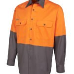Orange/Charcoal